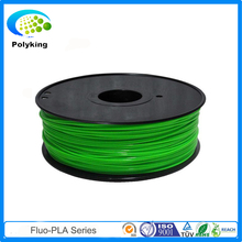 fluorescent fluo green PLA Filament for 3D Printer 1.75mm 3mm 20 colors 1kg (2.2lb)/spool