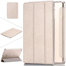 For ipad 5 / 6 Transparent Clear PU Leather Cover for ipad Air / Air2 Tablets Accessories Luxury Stand Smart Case for ipad Air 2
