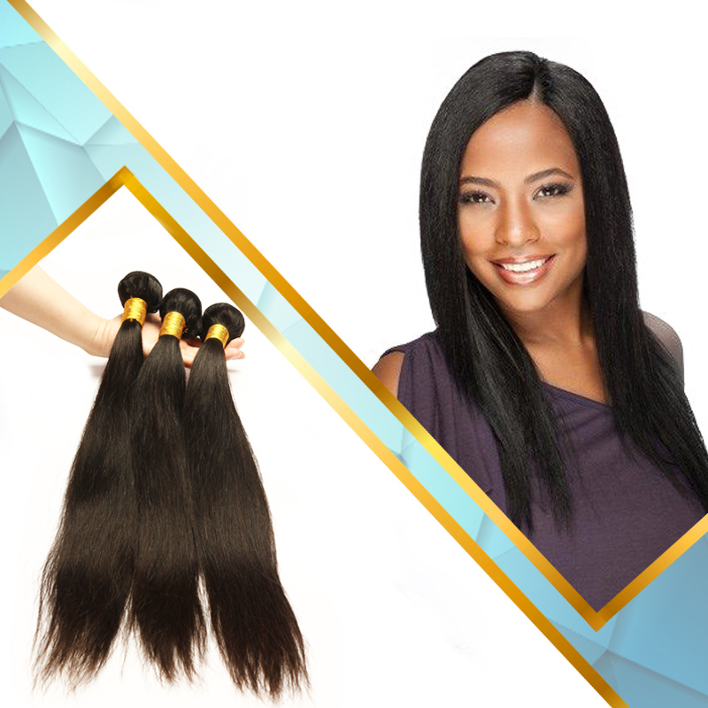 Straight Human Hair Weave Brands Hair Extensions