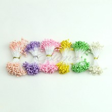 Free Shipping Flower Artificial Double Heads Stamen Pearlized Craft Cards Cakes Decor Floral – Consumer Electronics Shop