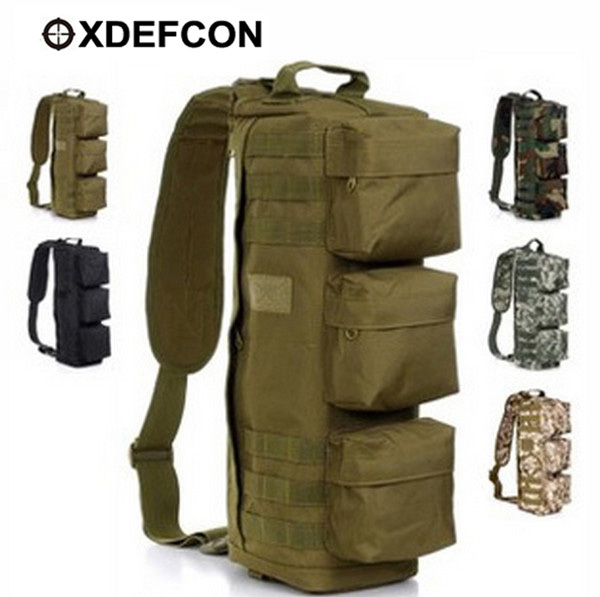 Military Tactical Assault Men and Women Wild Airborne Outdoor Sports Bag Large Shoulder Messenger Sling Riding Backpack <br><br>Aliexpress