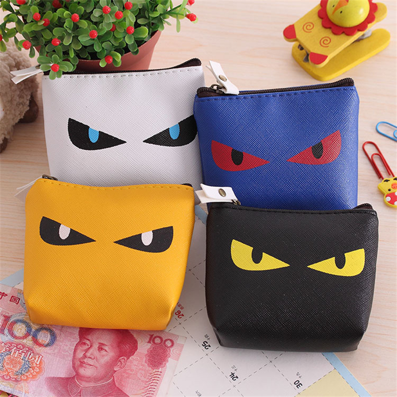 New Brand Cat Monster Mini Cute Coin Purses Cheap Casual PU Leather Purse For Coins Children Wallet Girls Small Pouch Women Bags(China (Mainland))