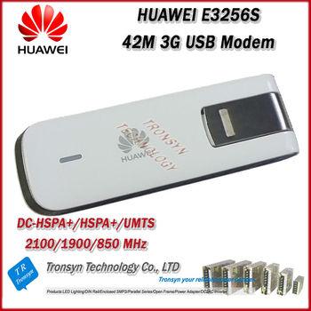 New Arrival Original Unlock HSPA+ 42Mbps HUAWEI E3256 3G Modem Support DC-HSPA+/HSPA+/UMTS 900/2100MHz