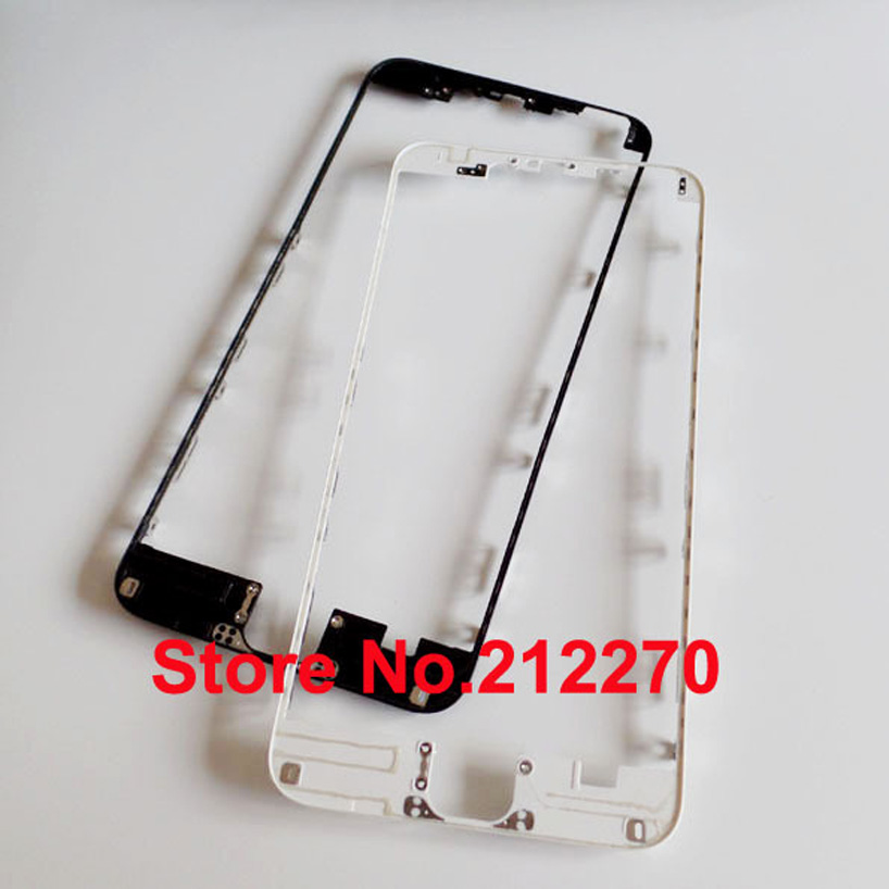 "Free DHL EMS New Front Middle Frame Bezel With Hot Glue Replacement Parts For iPhone 6 Plus 5.5"" 200pcs/lot"