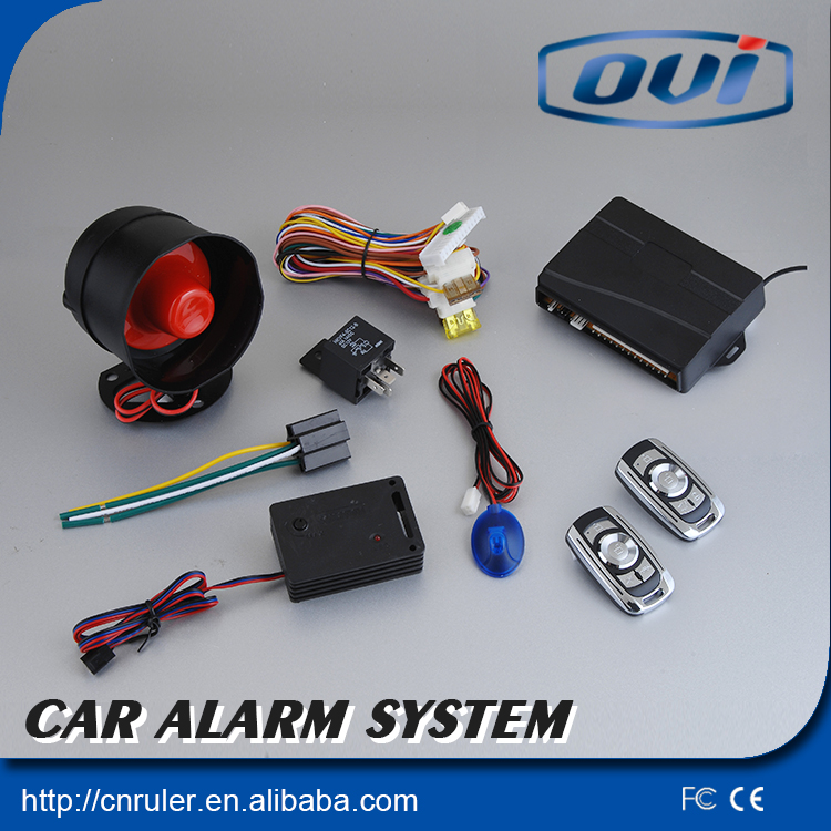 2015 universal car alarm with remote engine start &central door locking &trunk release(China (Mainland))