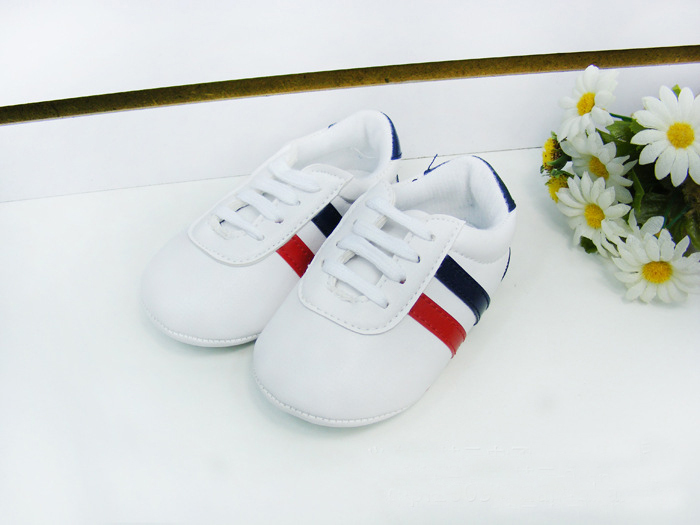 European and American slip shoes baby shoes toddler shoes soft bottom First Walkers