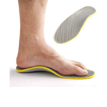 1Pair 3D Comfortable Orthotics Flat Foot Insole EVA Orthopedic Insoles for Shoes Insert Arch Support Pad for Plantar Fasciitis