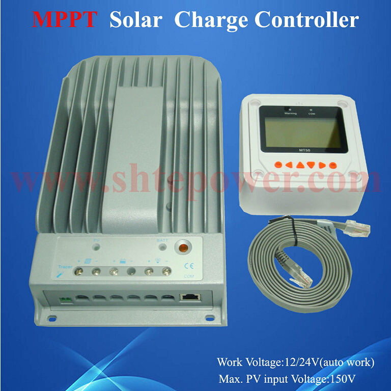 Excellent heat dissipation mppt control 30a 12v 24v solar charge controller(China (Mainland))