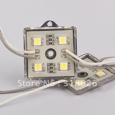 Waterproof LED Module 12V DC SMD 5050 square led modules lighting Leds Sign Led Backlights For Channel Letters White(Hong Kong)
