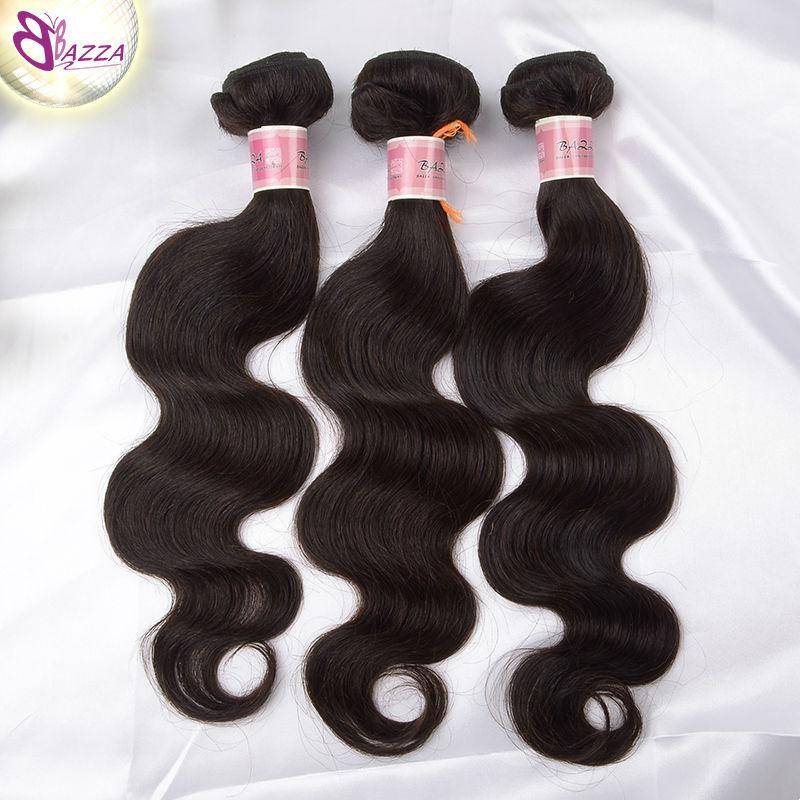 BAZZA Brazilian Body Wave Rosa Hair Products Brazilian Virgin HAIR EXPORTERS Brazilian Hair Weave Bundles Body Brazilian Hair(China (Mainland))