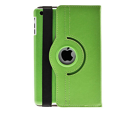 360 Degree Rotating Flip Case Cover Swivel Stand For Apple iPad Mini 1 2 3 New(China (Mainland))