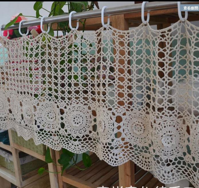 coton dentelle rideaux promotion achetez des coton dentelle rideaux promotionnels sur aliexpress. Black Bedroom Furniture Sets. Home Design Ideas
