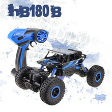 Lynrc RC Car 4WD Rock Crawlers HB180B 4x4  Bigfoot Double Motors Off-Road vehicle use AA battery(China (Mainland))