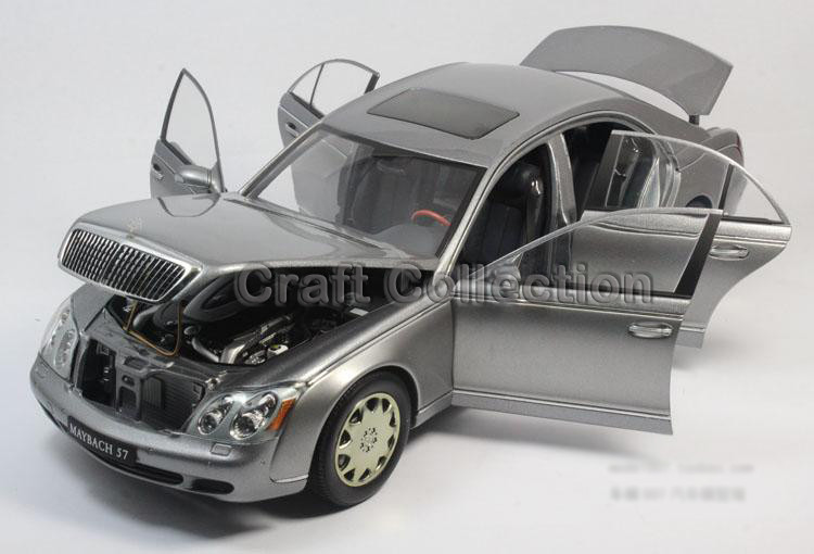 * Uncommon Grey 1:18 AutoArt AA Maybach 57 SWB Diecast Mannequin Automobile Luxurious Assortment Limitied Version