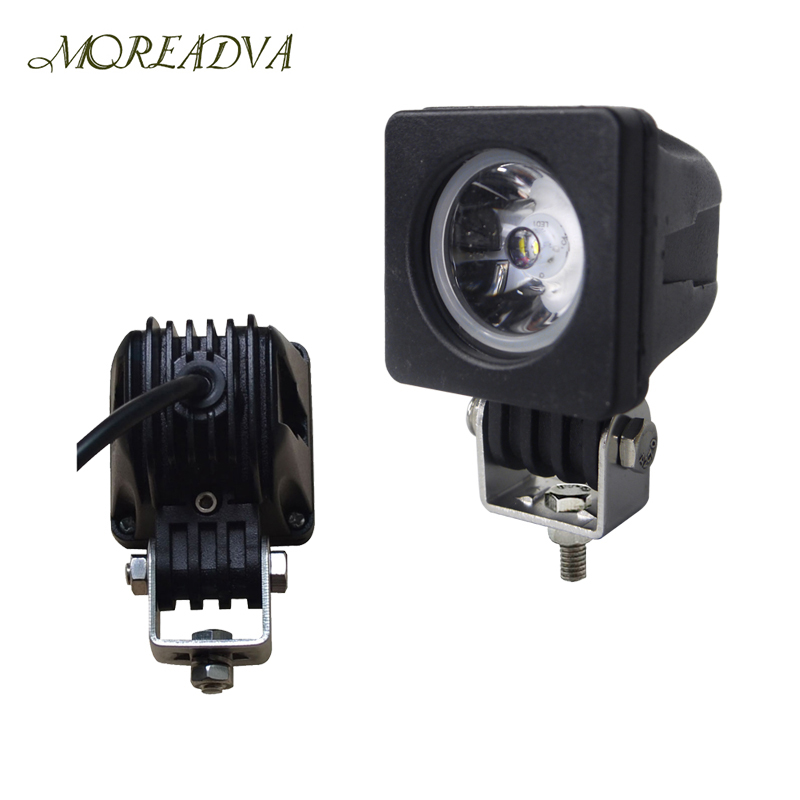 2 INCH 10W LED WORK LIGHT SPOT/FLOOD 800LM FOR OFF ROAD 4x4 , MOTORCYCLE BOAT ATV 12V24V IP68 - LITE-WAY STORE store