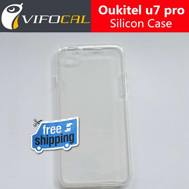 Oukitel u7 pro Silicon Case Soft TPU 100% New Protective Back Cover For Oukitel u7 pro Mobile Phone + Free Shipping(China (Mainland))