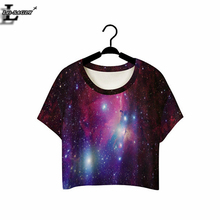 Buy Lei-SAGLY Beautiful Star Crop Top Short Sleeve T-shirts Fitness Women Clothes 2017 Summer Punk O-neck Harajuku T shirts F968 for $3.57 in AliExpress store