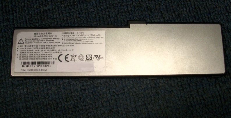 Free shipping high quality battery CLIO160 for HTC Shift X9500 with good quality(China (Mainland))