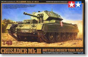 Tamiya model 1:48 British cruiser tank Mk.VI Crusader Mk.III 32555(China (Mainland))