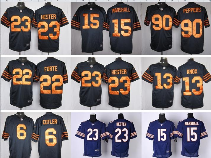 NO-1 New Arrivals Free shipping Best quality Chicago Bears all players 23 style size S-XXXL(China (Mainland))