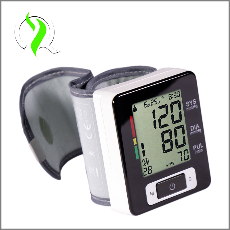 Intelligent Technology CE FDA Approval Fully Automatic Digital Wrist Blood Pressure Monitor and Pulse Monitor Sphygmomanometer(China (Mainland))