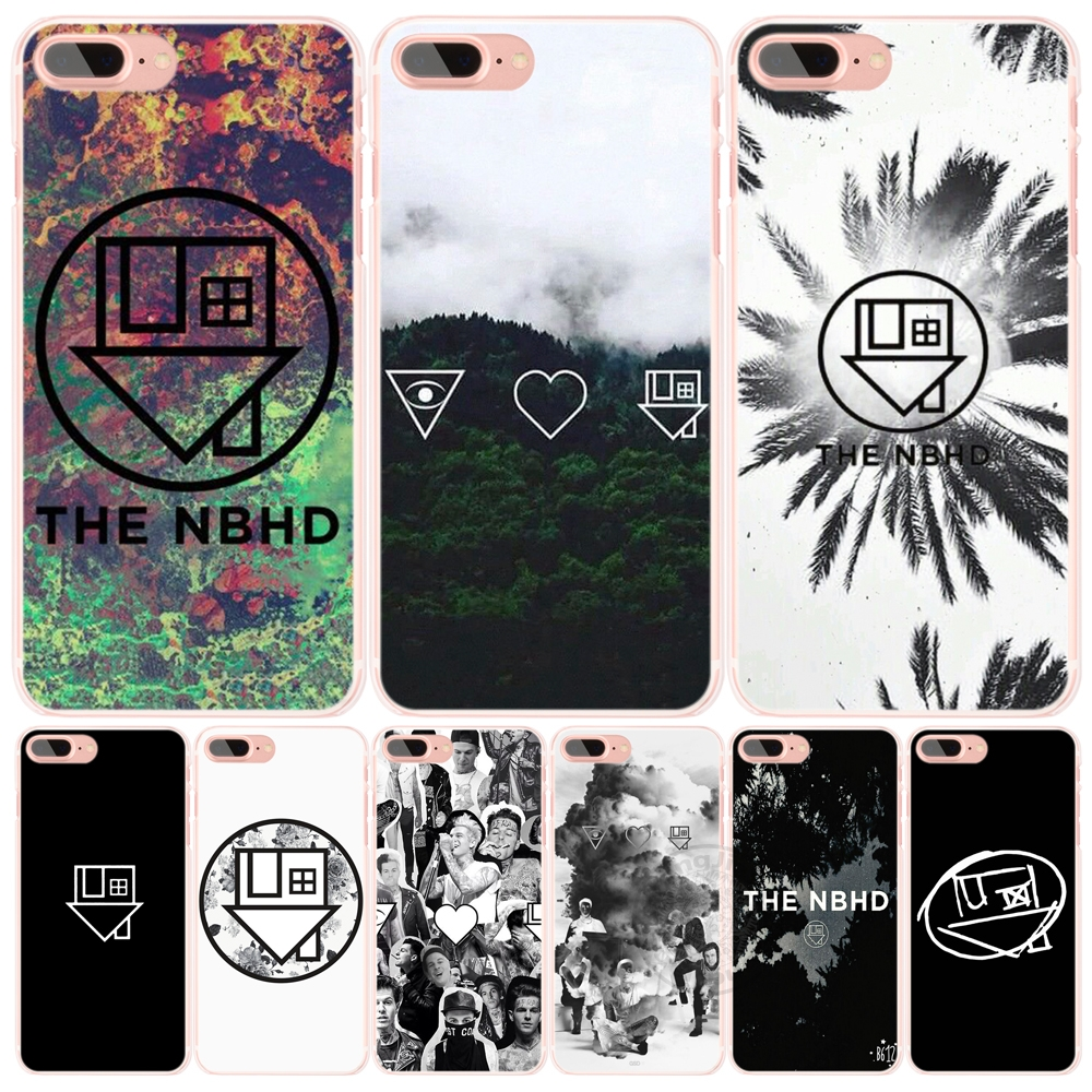The Neighbourhood NBHD Clear cell phone Cover case for iphone 6 4 4s 5 5s SE 5c 6 6s 7 plus case for iphone 7(China (Mainland))