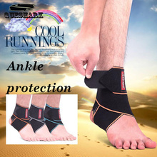 Buy 1pcs Silicone Ankle Support Strap Basketball Football Professional Adjustable Ankle Sleeve Protection Ankle Brace Sport Safety for $4.00 in AliExpress store