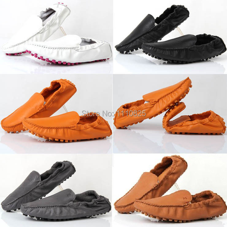 Фотография Free shipping, leisure fashion leather breathable summer casual shoes, super soft folding shoes