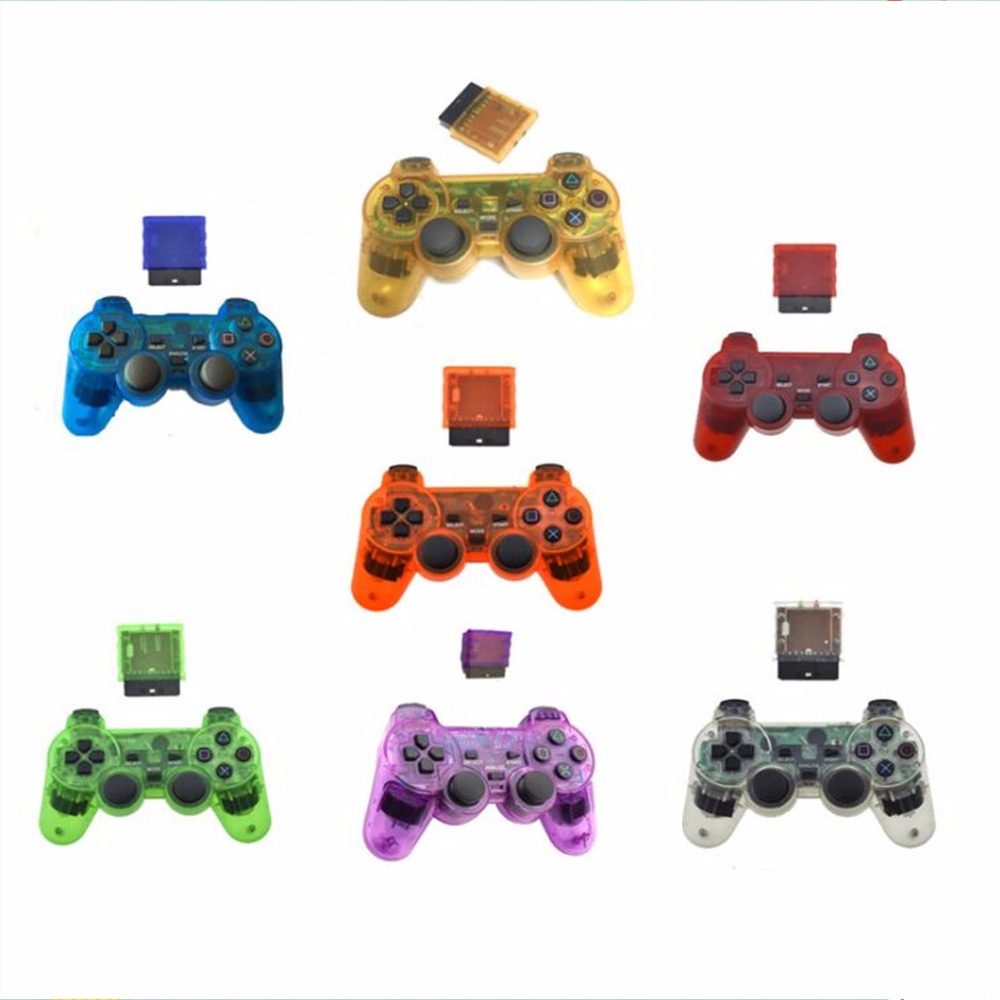 2.4G wireless game controller gamepad joystick for PS2 console playstation 2 Vibration video gaming play station for Sony joypad(China (Mainland))
