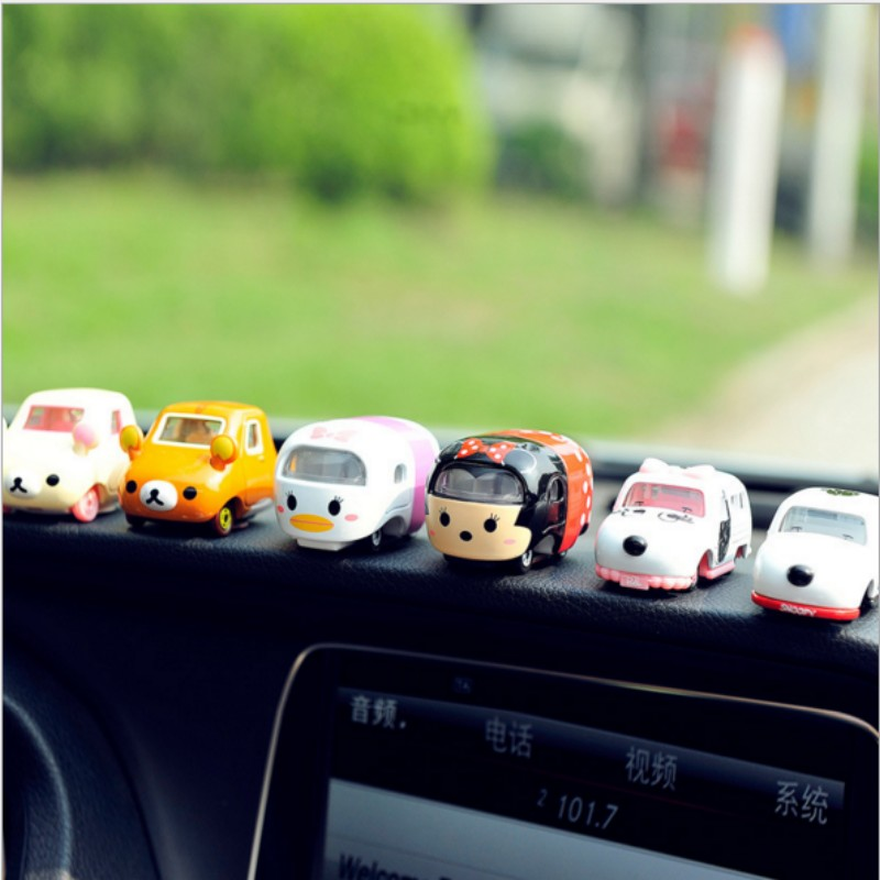 IT IS MY CAR 1pcs lovely cartoon bus car doll ornaments cool styling girl gift IT IS EXPENSIVE(China (Mainland))