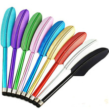 Feather Capacitive Stylus Touch Screen Pen for iPhone 5 4S 4 Samsung S4 Tablet PC Cell