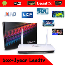 The Cheapest Price, No monthly pay, Free LEADTV Arabic IPTV Box, 460 Plus Arabic Channels, Remote Control Free, Multi Languages