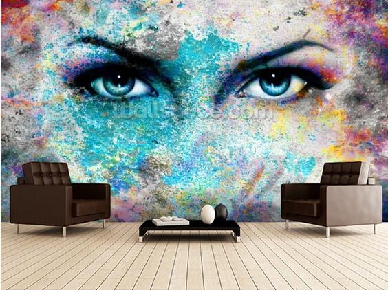 Murales para fondos image gallery imagenes murales en 3d - Murales fotograficos pared ...