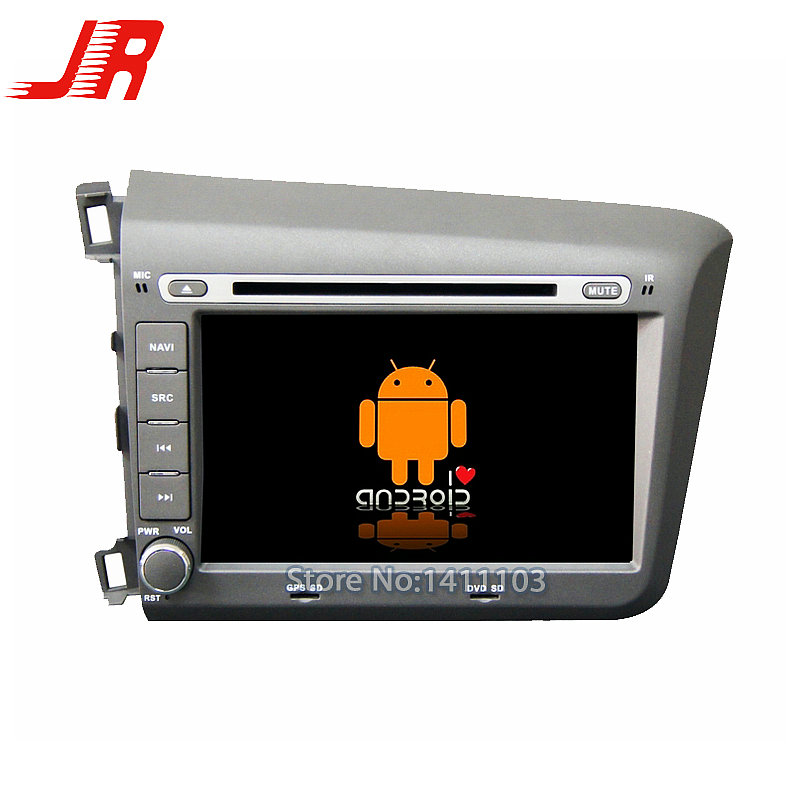Quad Core Android 4.4 Car DVD GPS player FOR HONDA CIVIC 2012 left  Quad Core A9 1.6GHz car audio car multimedia car stereo<br><br>Aliexpress