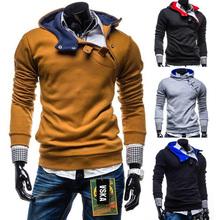 Vendita calda 2015 nuovi uomini di modo fibbia vestito di sport con cappuccio bape ricreazione sudaderas hombre di alta qualità con cappuccio da uomo m ~ xxxl  (China (Mainland))