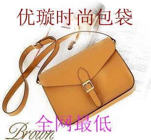 2013 envelope candy color one shoulder cross-body vintage female bags p5