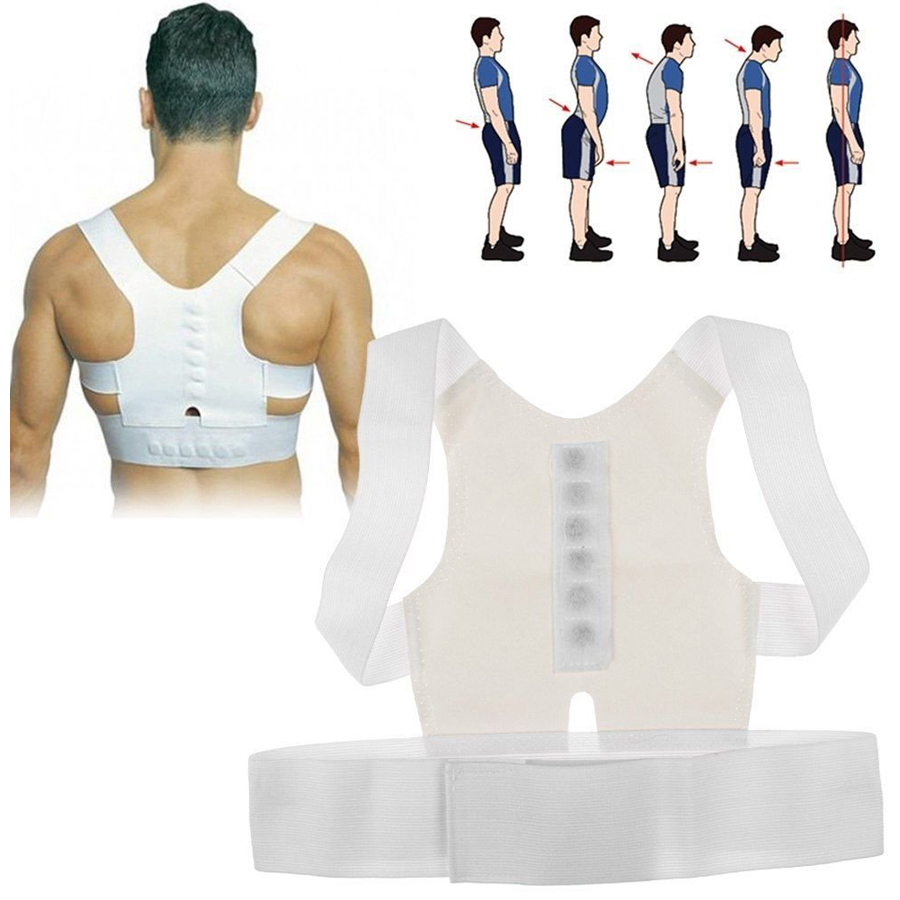 1 Pcs Sumifun Best Adult Custom-made Babaka Correct Posture Corrector Vest Braces Back Support Belt C618(China (Mainland))
