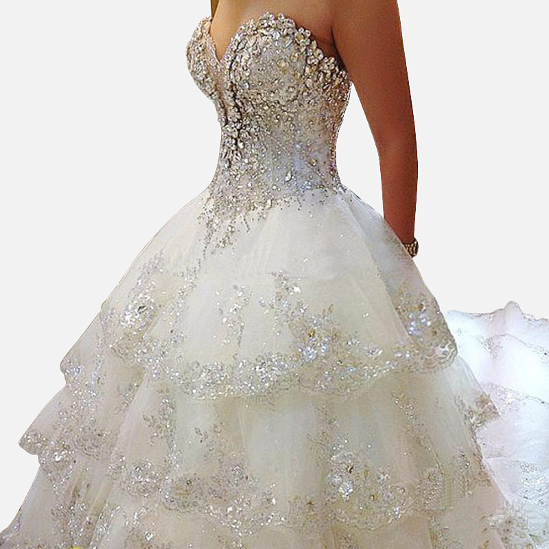 buy luxury wedding dresses 2015 new sexy