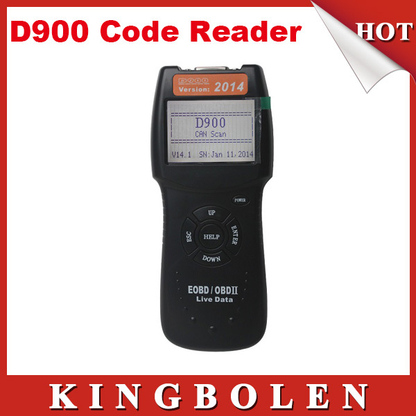 2015 Version D900 CANSCAN scanner OBD2 Live PCM Data Code Reader Scanner Auto Code EOBD Diagnostic Car Scanner Free Shipping(China (Mainland))