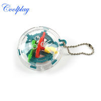 Free shipping 30 Steps CP959A Mini Puzzle ball  Educational Magic Intellect Ball Marble Puzzle Game perplexus magnetic balls