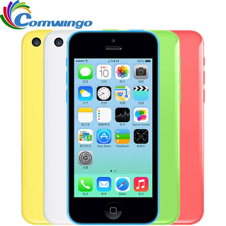 "Original Apple iphone 5c unlocked 32GB+1GB Storage GSM HSDPA Dual Core 8MPix Camera 4.0"" screen iphone 5c(China (Mainland))"