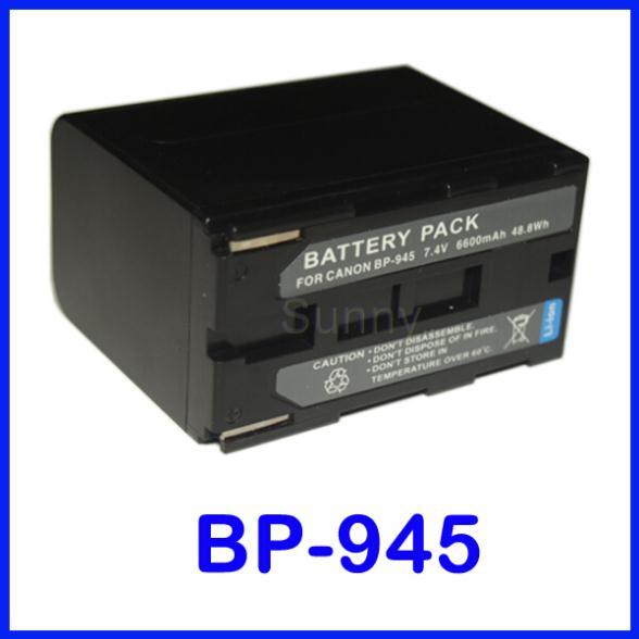 BP-945 Battery Pack for Canon GL1, GL2, XH A1, A1S, XH G1, G1S, XL H1, H1A, XL H1S, XL1, XL1S, XL2 MiniDV Digital Camcorder(China (Mainland))