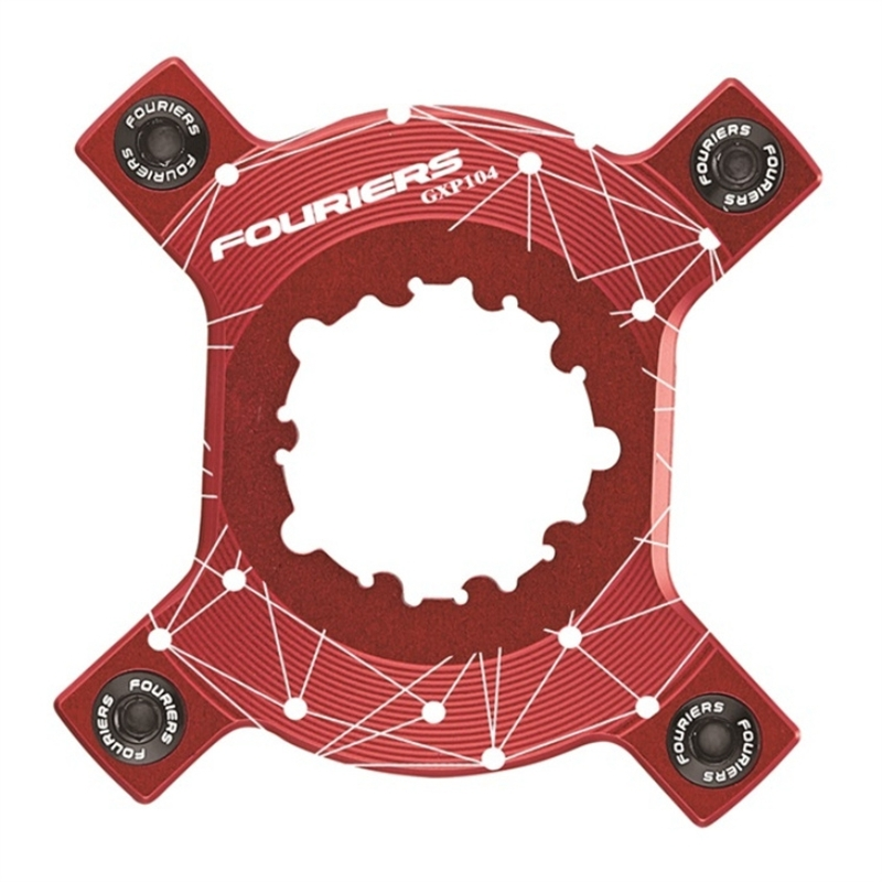 Fouriers CNC Chain Ring Spider Adapter For P.C.D 104 Chainrings XX1 X0 X9 GXP Cranks Come with screws.<br><br>Aliexpress