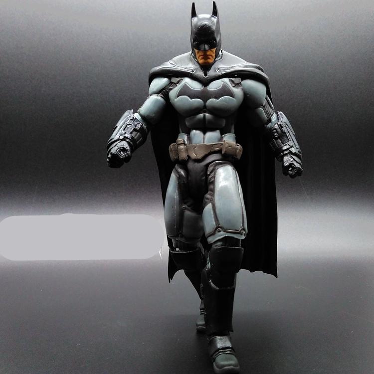 1pcs/set Superman V Batman Justice League Forrest Knight The Dark Knight Marvel PP BAG Rises Avengers Super Hero PVC 17cm Figure(China (Mainland))
