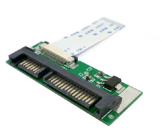 1.8 24pin SATA LIF HDD TO 2.5 22pin SATA serial port adapter card<br><br>Aliexpress