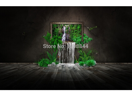 Free Shipping Classical Custom Home Decoration Nature in House Poster PSV WallSticker Free Shippingr#0581