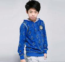 KNB fashion children's sweatshirt hoodies boys fleece hoodies & sweatshirt autumn&winter children sport clothes outerwear AQ5222(China (Mainland))