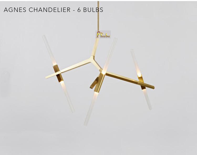 Roll Hill Agnes Chandelier Modern Chandelier 110V 240V Chandelier Light Lighting Design by Lindsey Adams Adelman+Free shipping! <br>