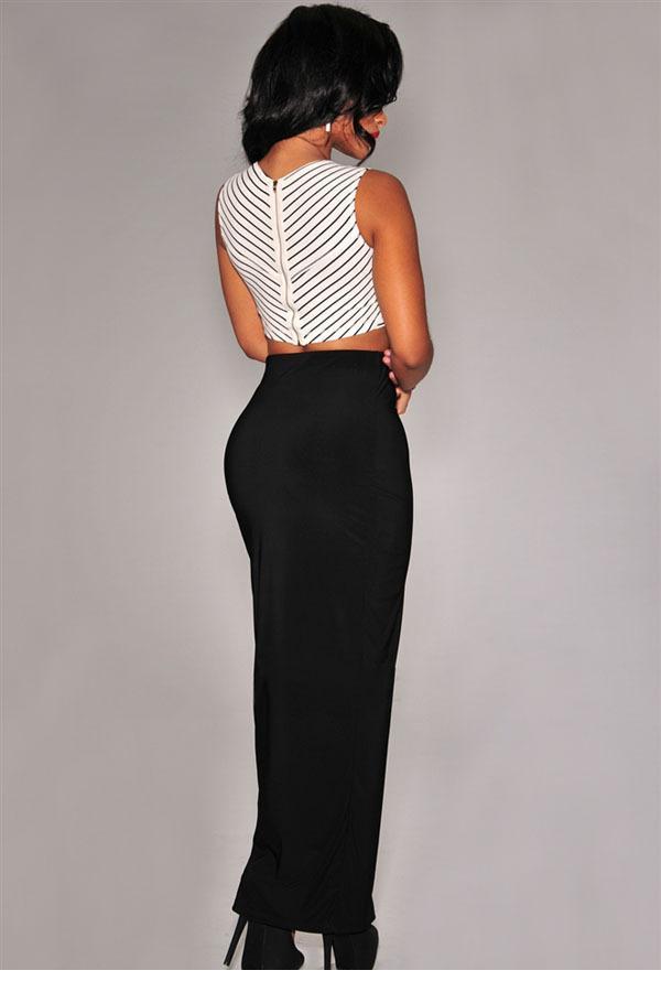 1e34f498979 Black Long Tight Skirt - Redskirtz