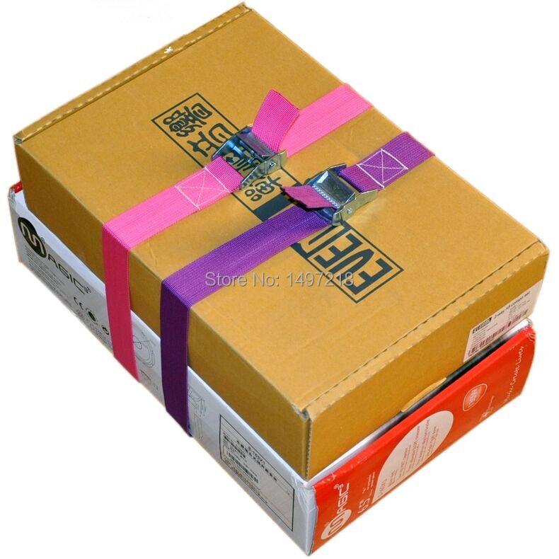Free Shipping High quality Wholesale 1pcs 5cm*7M 500KG transportation ratchet tie down cargo lashing cargo belt ratchet strap(China (Mainland))